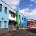 multiple colours of cladding