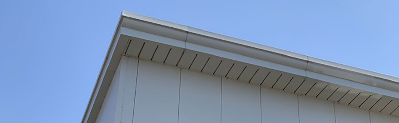 wellwood roofing solutions installed composite cladding on commercial building