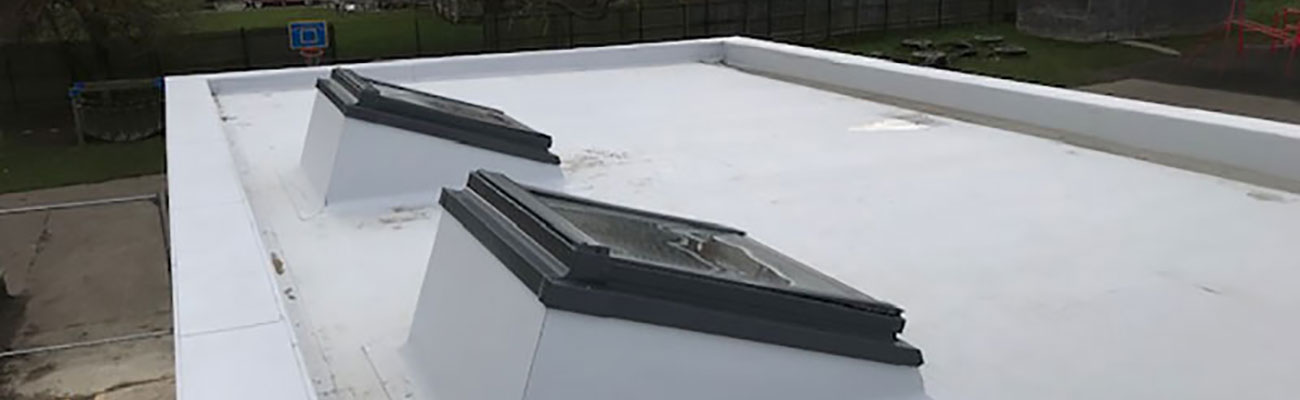 rooflights on a flat roof from welwood