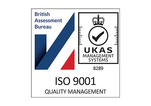 welwood special projects are ISO 9001 Quality management accredited